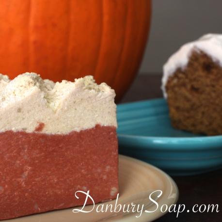 Pumpkin Cake Soap
