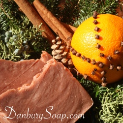Spiced Orange Soap
