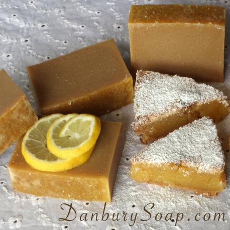 Lemon Vanilla Soap