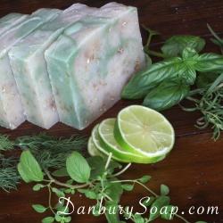 Lime & Herb Oatmeal Soap